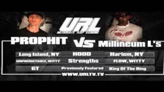 SMACK/ URL PRESENTS Prophit vs Millennium L