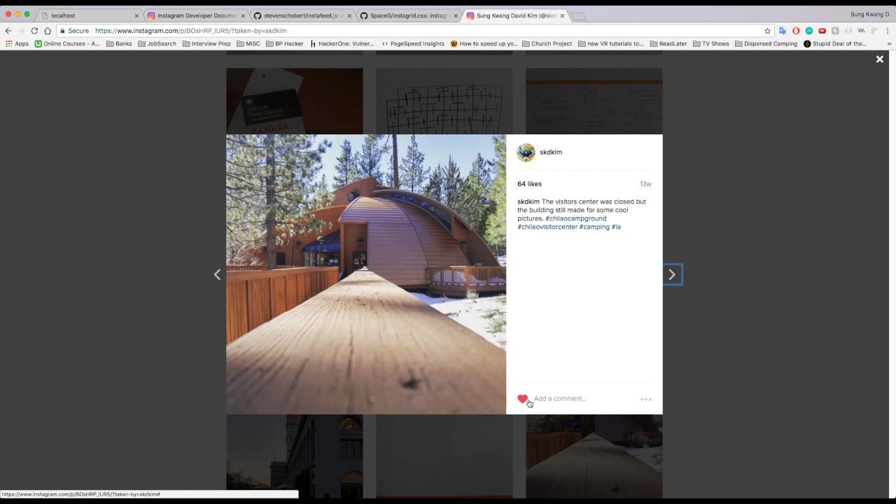 Instagram API Tutorial making requests [Deprecating]