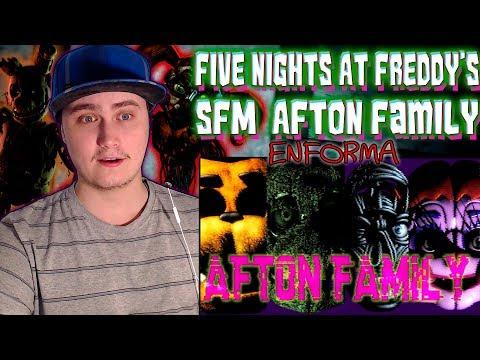 [SFM FNAF] Afton Family : KryFuZe (Russell Sapphire Remix) | Reaction | Molten Smolten