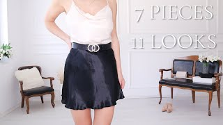 7 PIECES - 11 LOOKS SUMMER STYLING IDEAS | What To Wear In Summer