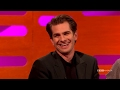 Andrew Garfield on his Golden Globe Kiss with Ryan Reynolds   The Graham Norton Show