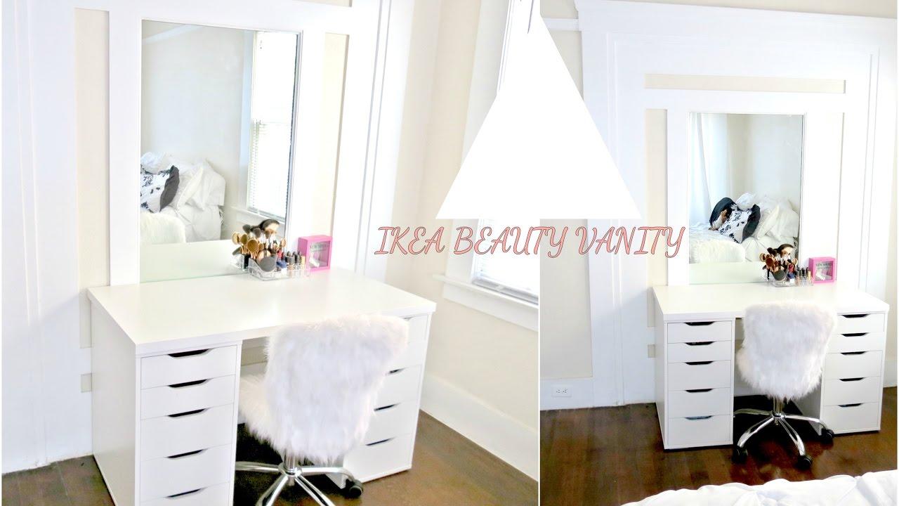 Ikea Beauty Vanity Youtube