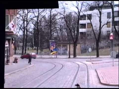 HELSINKI TRAM RIDE 1994