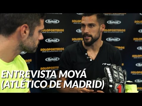 SoloporterosTV entrevista a Moyá , portero del Atlético de Madrid