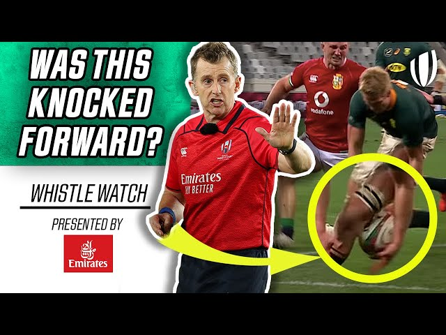 Nigel Owens Reacts to the First Lions Test! | Whistle Watch