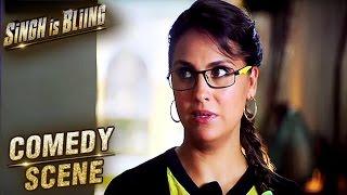 Lara Dutta Funny Translation Scene   Comedy Scene   Singh Is Bliing   Akshay Kumar, Amy Jackson   HD