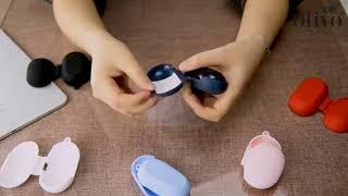 올리보 갤럭시 버즈 플러스 버드 젤리 실리콘 케이스 카…