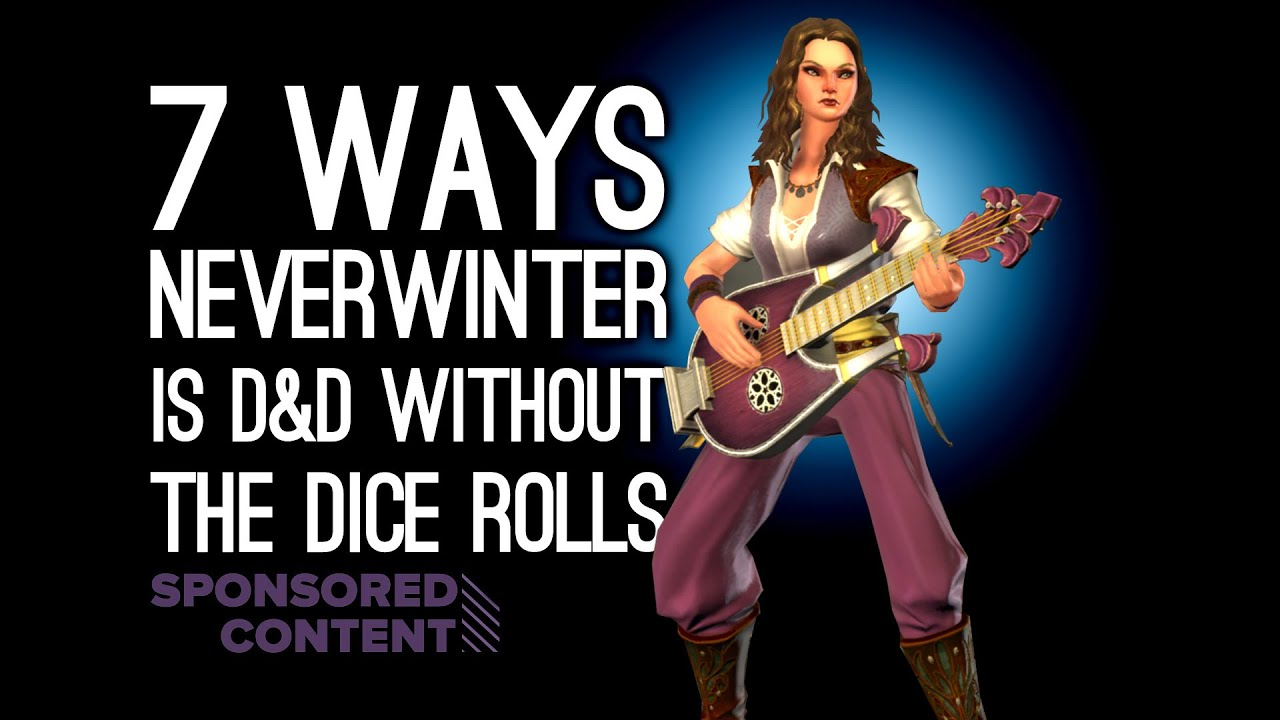 7 Ways Neverwinter is D&D Without the Dice Rolls (Sponsored Content)