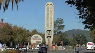 Antsirabe - Train Station + Fahaleovantena Monument + Hotel Des Thermes - Madagascar - 06.05.2017