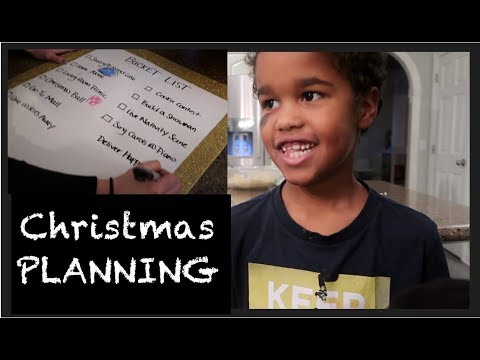 Planning Our LARGE FAMILY CHRISTMAS