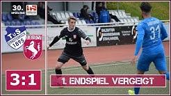 30. Spieltag 2018/19: TuS Erndtebrück - Hammer SpVg 3:1 (0:0)