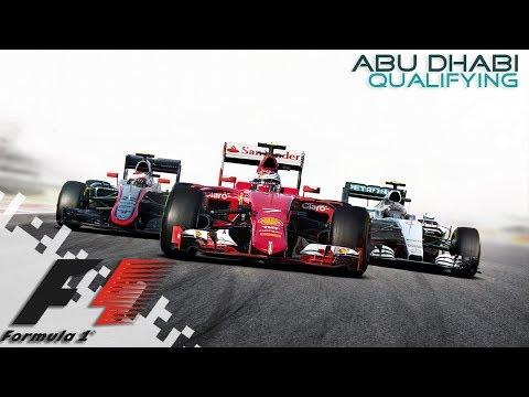 F1 2016 - Abu Dhabi - Qualifying!