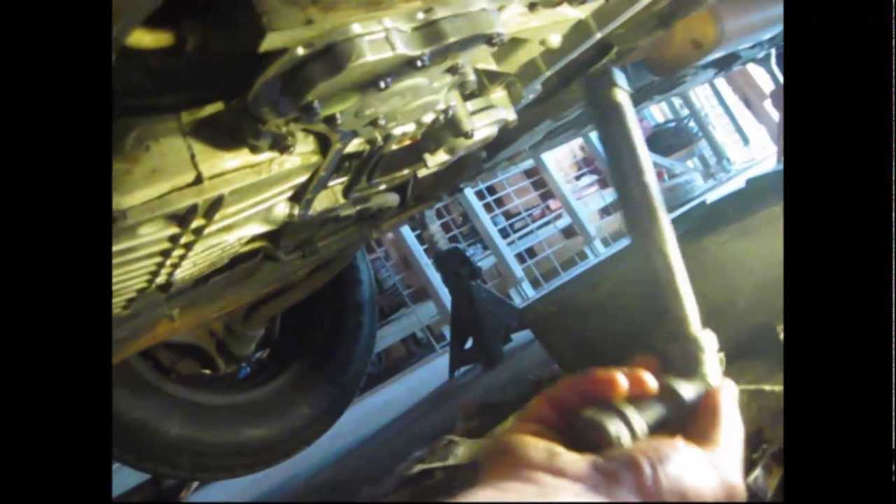 Transmission Filter Seal Remove Install Youtube