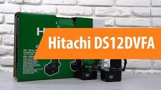 распаковка шуруповерта Hitachi DS12DVFA / Unboxing Hitachi DS12DVFA