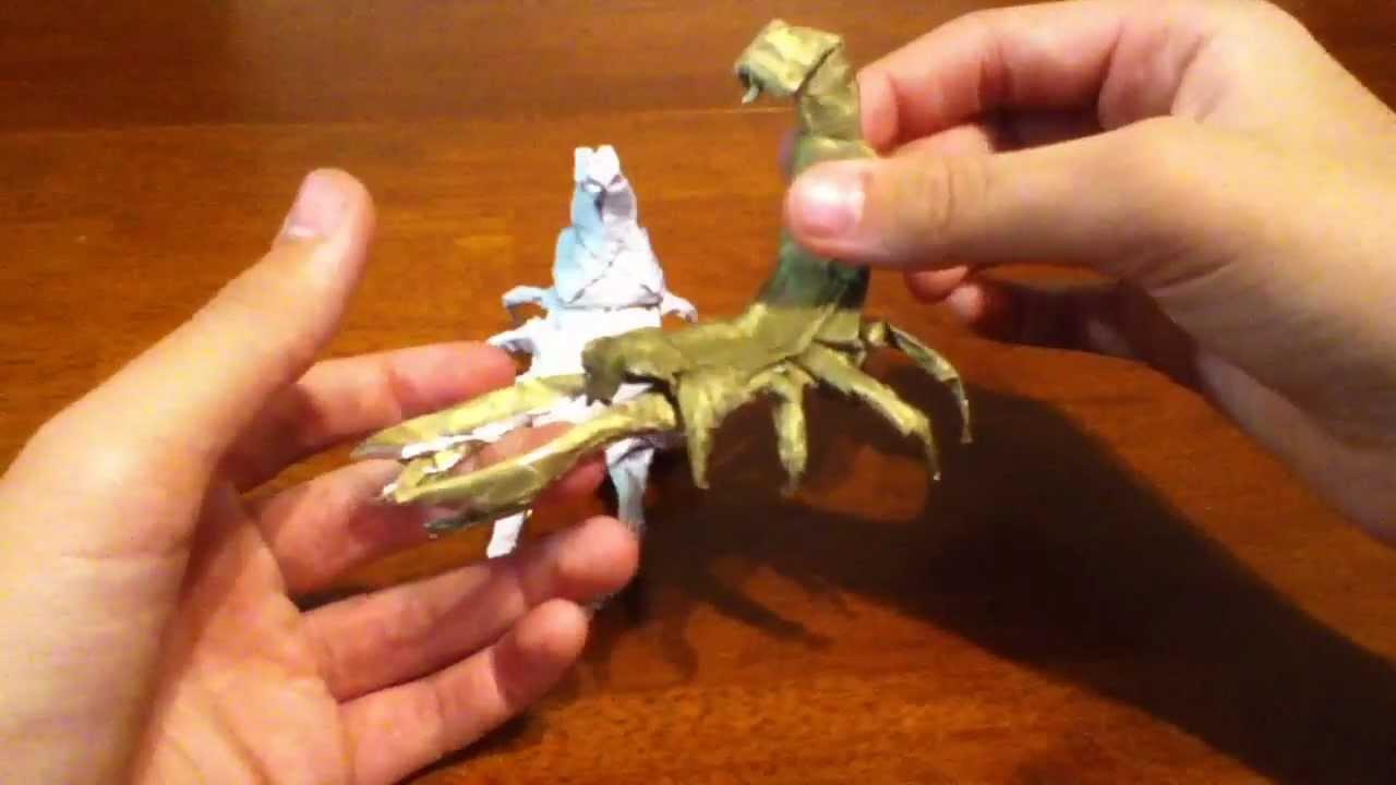 origami scorpion tadashi mori pdf