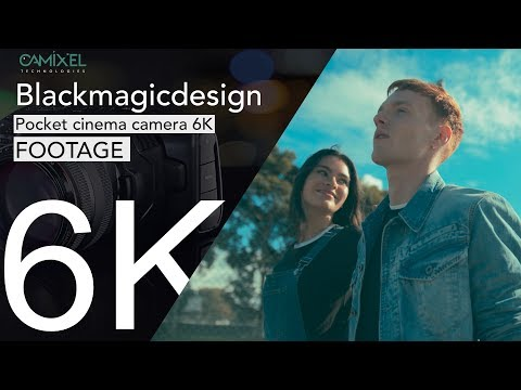Blackmagicdesign Pocket Cinema Camera 6K - FOOTAGE _ GRADED