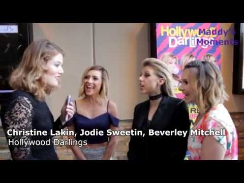 Christine Lakin, Jodie Sweetin, and Beverley Mitchell discuss their new show, Hollywood Darlings