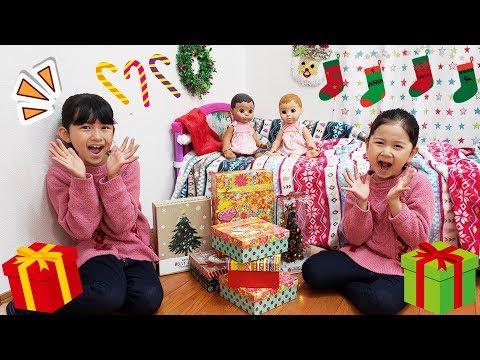 妖精さんが届けたクリスマスプレゼント♡いっぱい開けちゃおう♪ himawari-CH