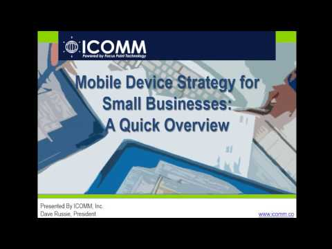 Webinar: Mobile Device Strategy