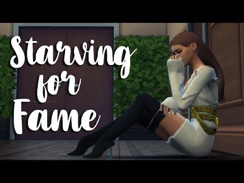 STARVING FOR FAME: A Model Story (Part 2) | The Sims 4