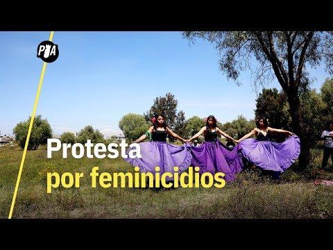 Fuimos a Ecatepec para el homenaje a víctimas de feminicidio
