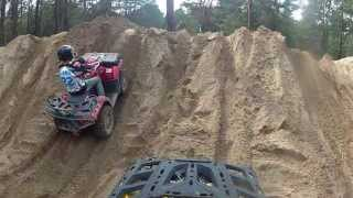 Quad/Atv - Can am outlander 800 xt, Polaris 850xp, Offroadpark Jänschwalde Teil 2