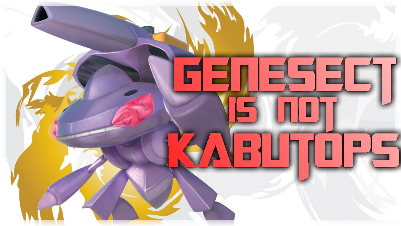 Pokemon Theory - Genesect is NOT Kabutops - YouTube