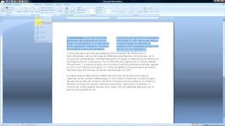 Word 2007 Comment mettre en colonne un texte ?