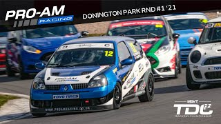 TDC Rnd 1 !WIN! - Donington Park | Race | Renault Clio 182 | 11.04.21 (Onboard)