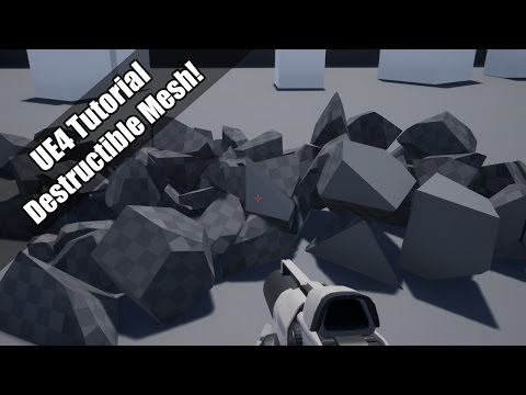 Setting Up Destructible Meshes in UE4