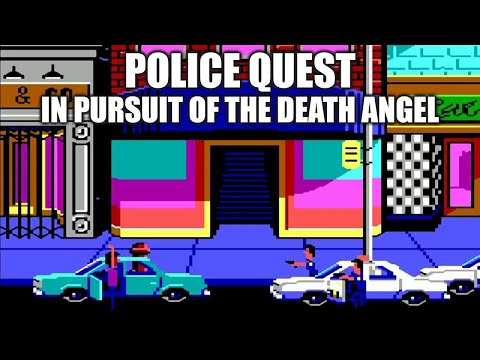 POLICE QUEST Adventure Game Gameplay Walkthrough - No Commentary Playthrough