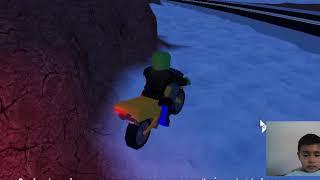 Roblox jailbreak ando en moto