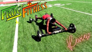 Fear The Frog Fitness? | Full Body Workout with Frog Fitness!