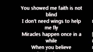 Miracles Happen - Princess Diaries lyrics // by fatima.mov