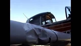 Grumman Pilots - Wing Repair Bird Strike