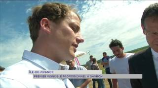 Île-de-France : premier vignoble professionnel à Davron