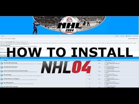 How to Install NHL 2004 Rebuilt Mod