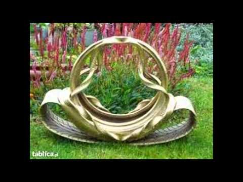 Flowerbeds With Tires Kwietniki Z Opon Youtube
