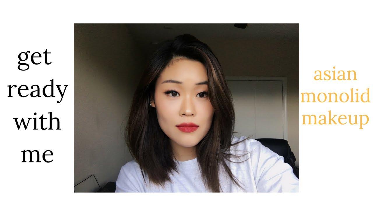 Monolid makeup