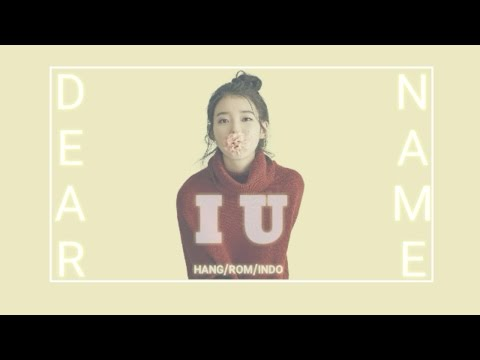 [INDO SUB] IU - DEAR NAME