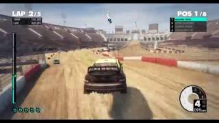 Dirt 3 Mitsubishi Evo gameplay : WOW