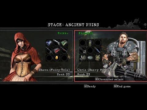 Resident Evil 5 The Mercenaries Reunion Duo Ancient Ruins