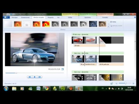 tutorial como usar windows live movie maker