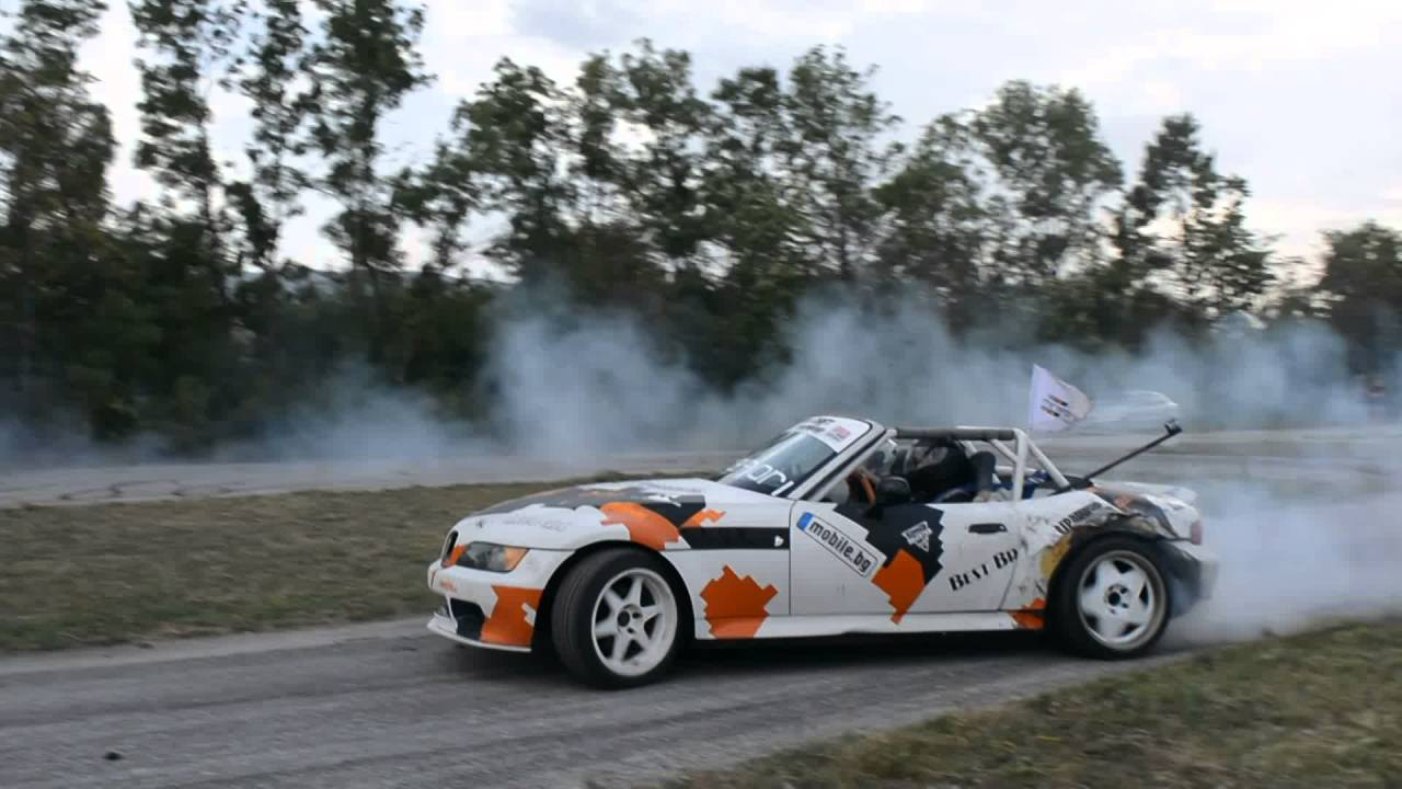 Bmw Z3 Drift Bulgaria Youtube