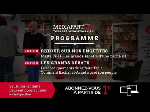 Mercredi, 20h. « En direct de Mediapart »: les enseignements de l'affaire Tapie