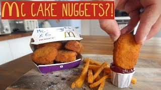 The McChicken Nugget Cake Project
