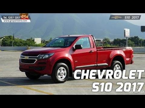Chevrolet S10 2017 Monterrey México Grupo Rivero