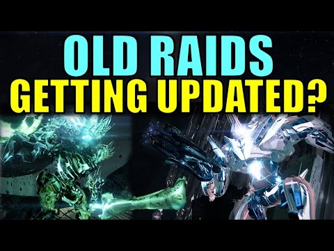 Destiny old raids finally being updated destiny 2016 live update