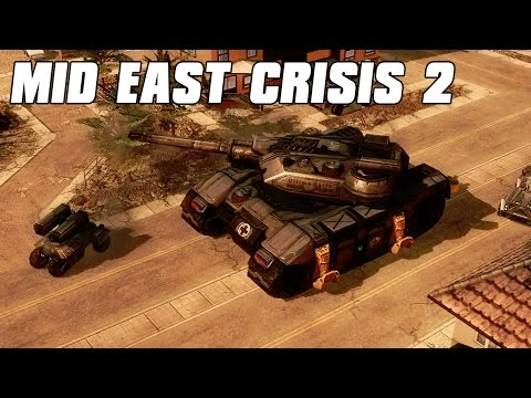 Mideast Crisis 2 UN Peacekeepers - Command and Conquer 3 Mod