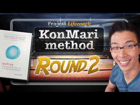 KonMari Method - Full Time-lapse Round 2 | Marie Kondo | Kon Mari Method | How to Clean Your Room